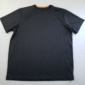 The north face mens black short sleeve t shirt XL